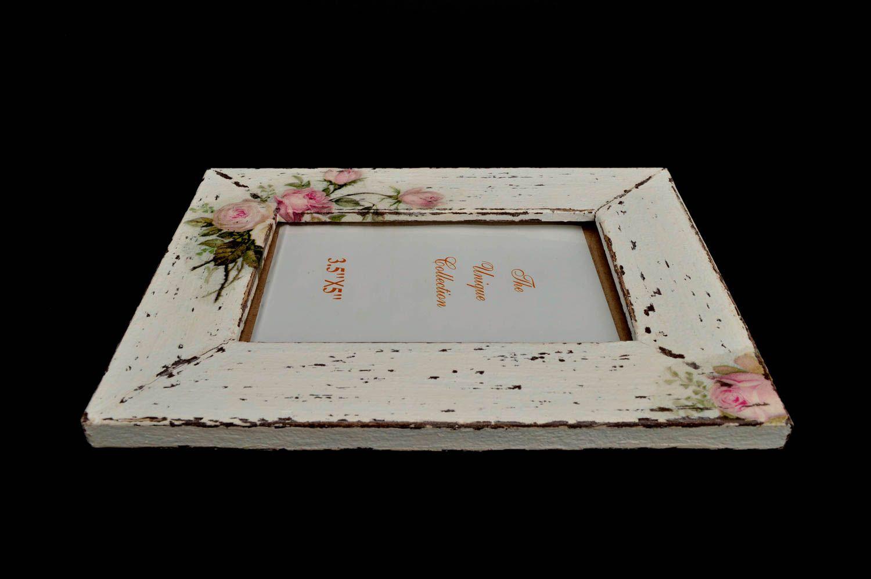 Unusual wooden photo frame handmade stylish photo frame home decor ideas photo 4