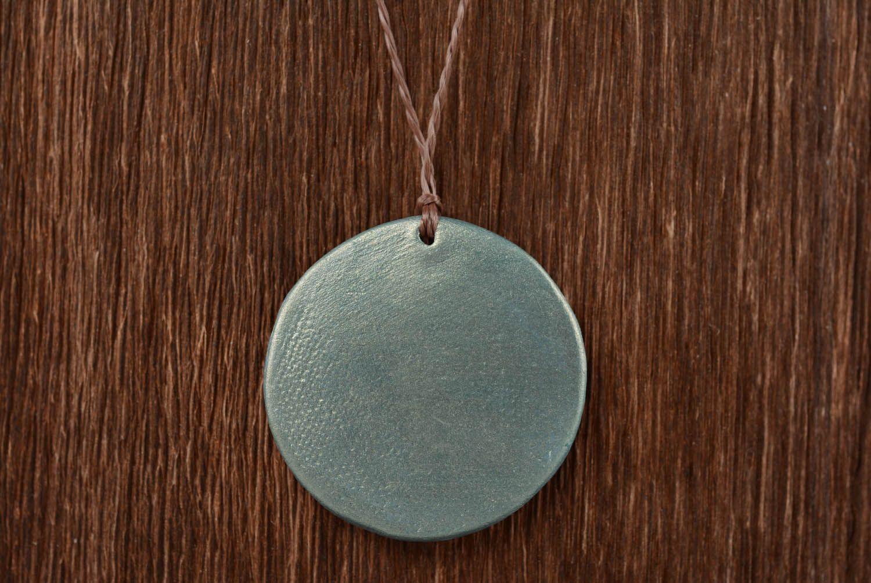 Ceramic pendant amulet Ladinets photo 5