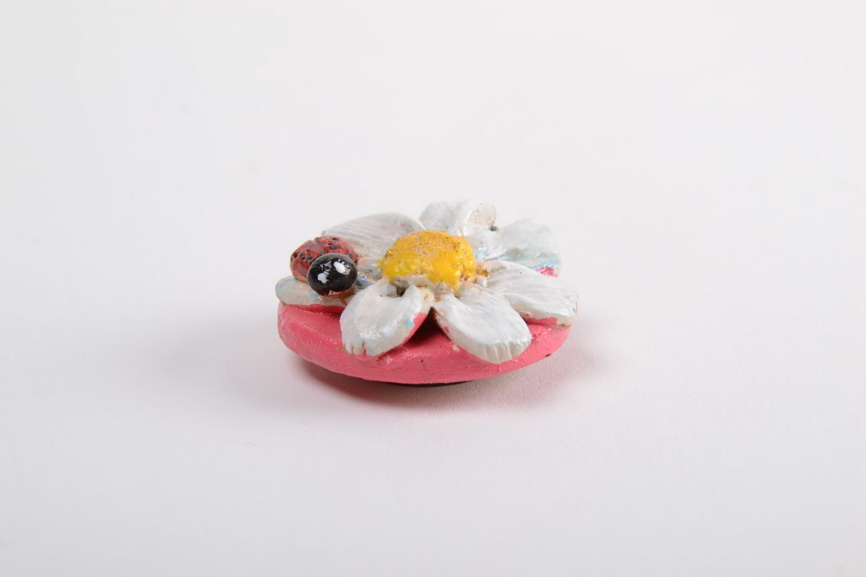 Unusual handmade cramic fridge magnet beautiful clay fridge magnet gift ideas photo 5