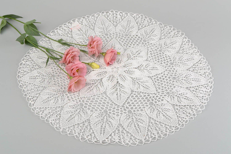 Вязание салфеток на стол 464