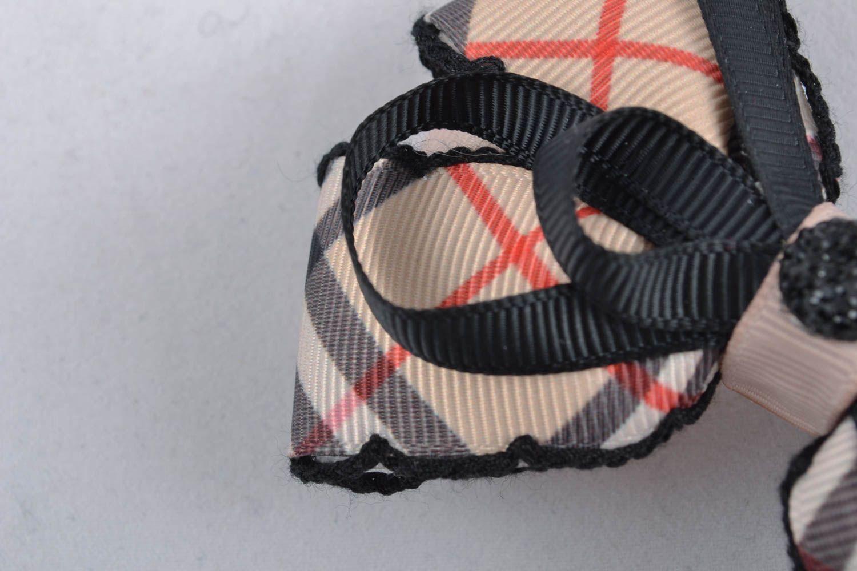 American bows made of ribbons photo 2