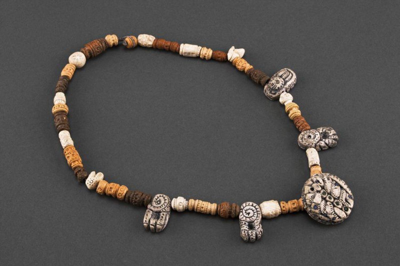 Ожерелье в этническом стиле фото 2
