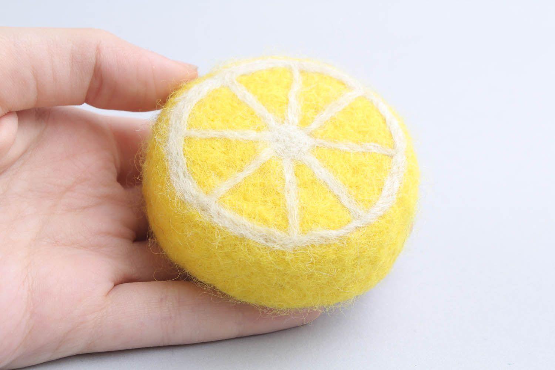 Loofah soap Lemon photo 2
