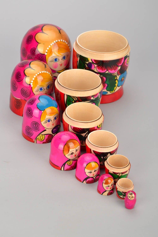 Russian folk toy Matryoshka photo 3