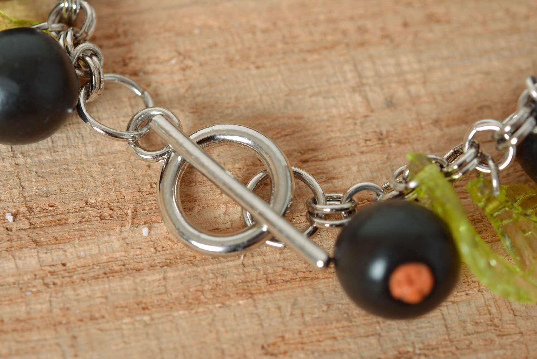 Chain bracelet handmade jewelry bead bracelet metal jewelry charm bracelet photo 5