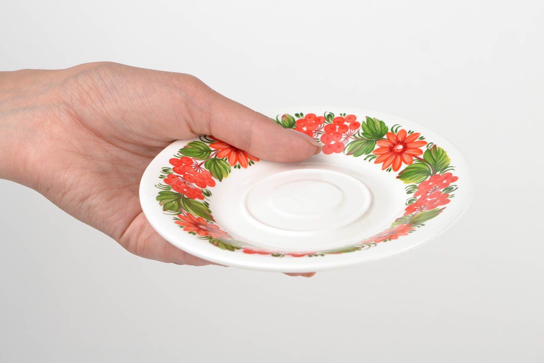 madeheart soucoupe porcelaine fait main petite assiette. Black Bedroom Furniture Sets. Home Design Ideas
