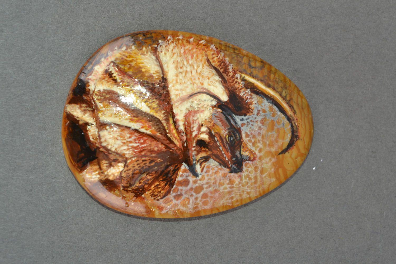 Cabochon for brooch Dragon photo 3