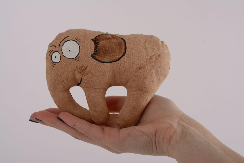 Soft coffee toy Elephant photo 4