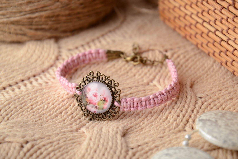 Tender vintage woven bracelet photo 1