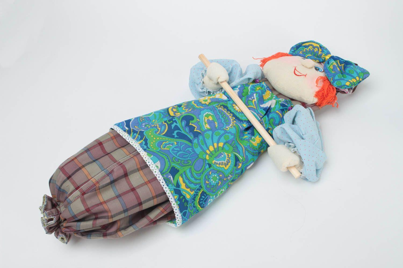 Madeheart mu eca guarda bolsas hecha a mano juguete de - Guardar bolsas plastico ...