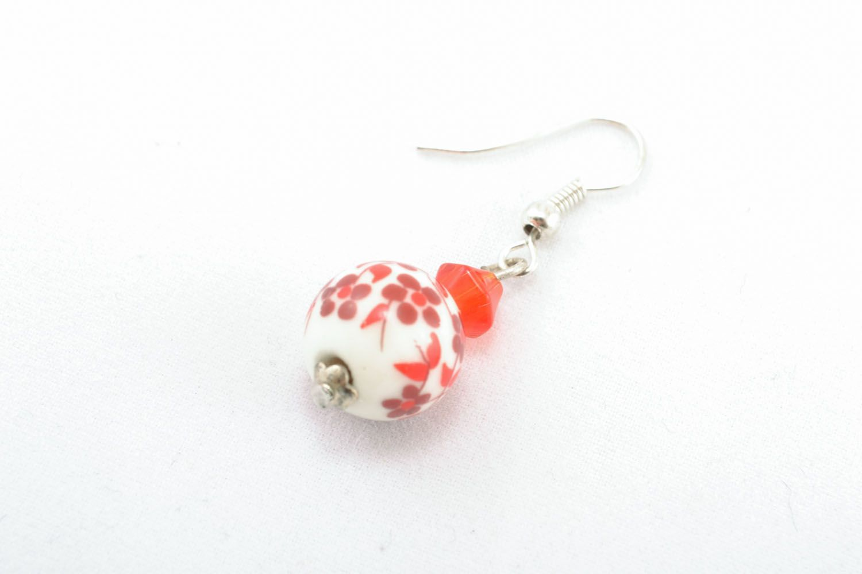 Homemade beaded earrings photo 2