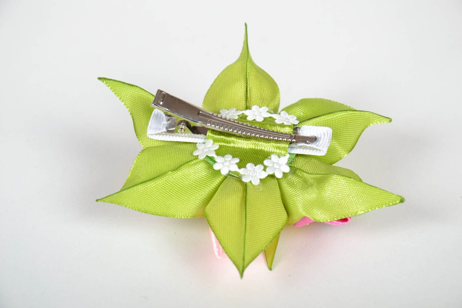 Hairpin with flowers Bouquet photo 3