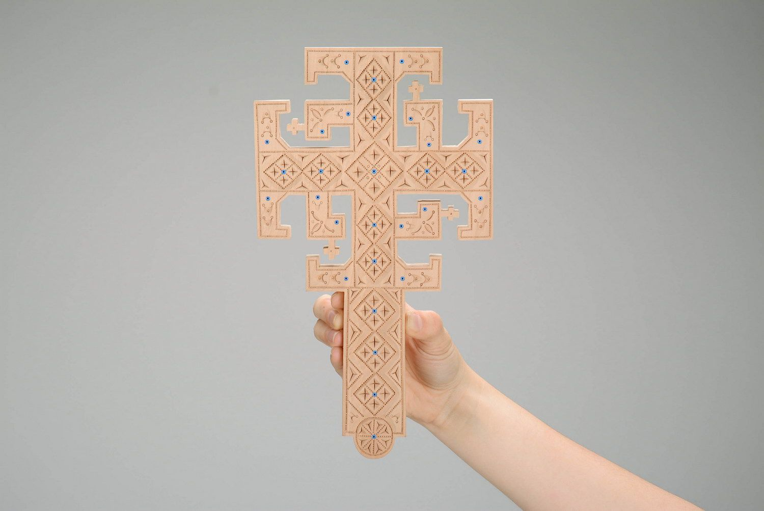 Handmade wall cross photo 4