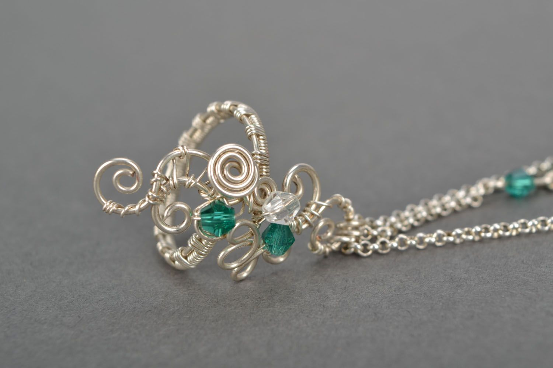 Homemade slave bracelet with crystal photo 5