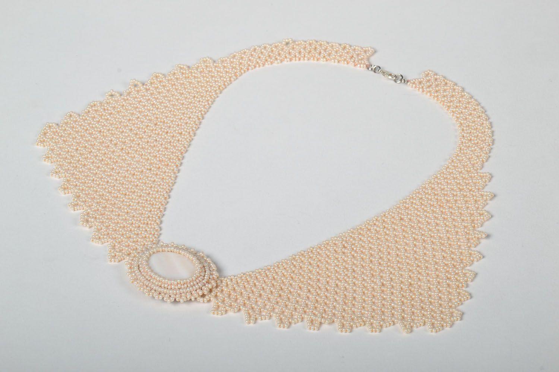 Unusual handmade necklace photo 2