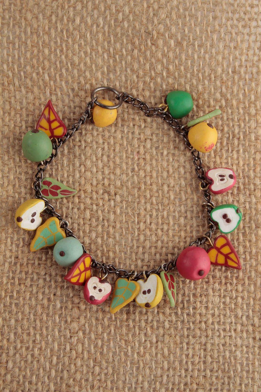Handmade Clay Jewelry Unusual Plastic Necklace Designer Cute Necklace