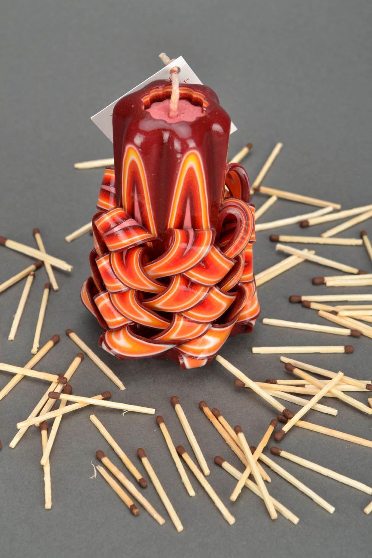 handmade candles Handmade carved candle - MADEheart.com