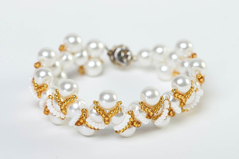 Stylish handmade jewelry set beaded necklace bracelet designs fashion trends photo 4