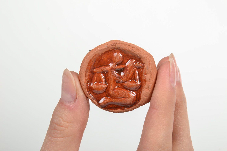Ceramic fridge magnet Libra photo 5