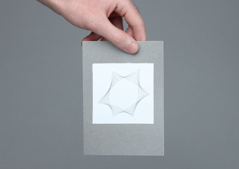 Izon postcard with envelope photo 4