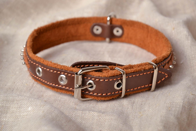 Madeheart collar de cuero para perros - Collares de cuero ...