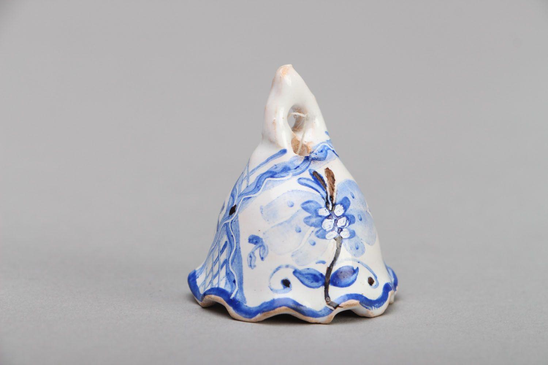 Tiny ceramic bell photo 1