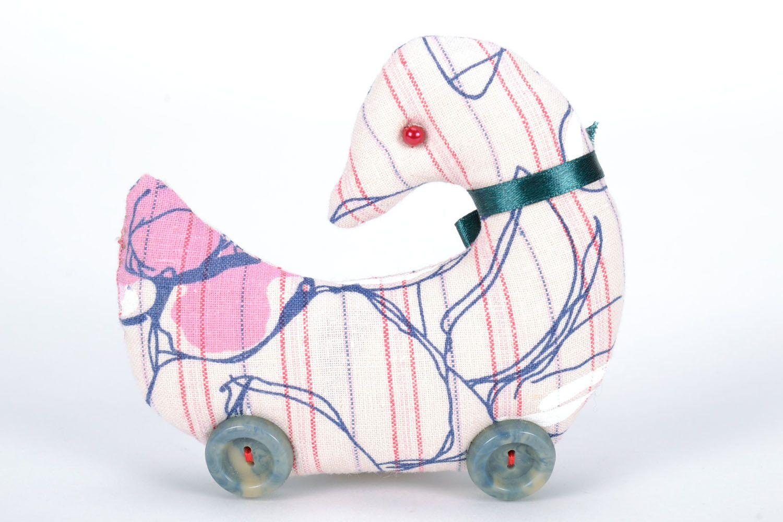 Soft textile toy Duck photo 2