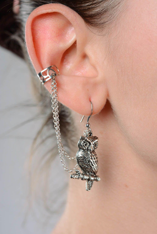 Metal ear cuffs Wise adviser photo 3