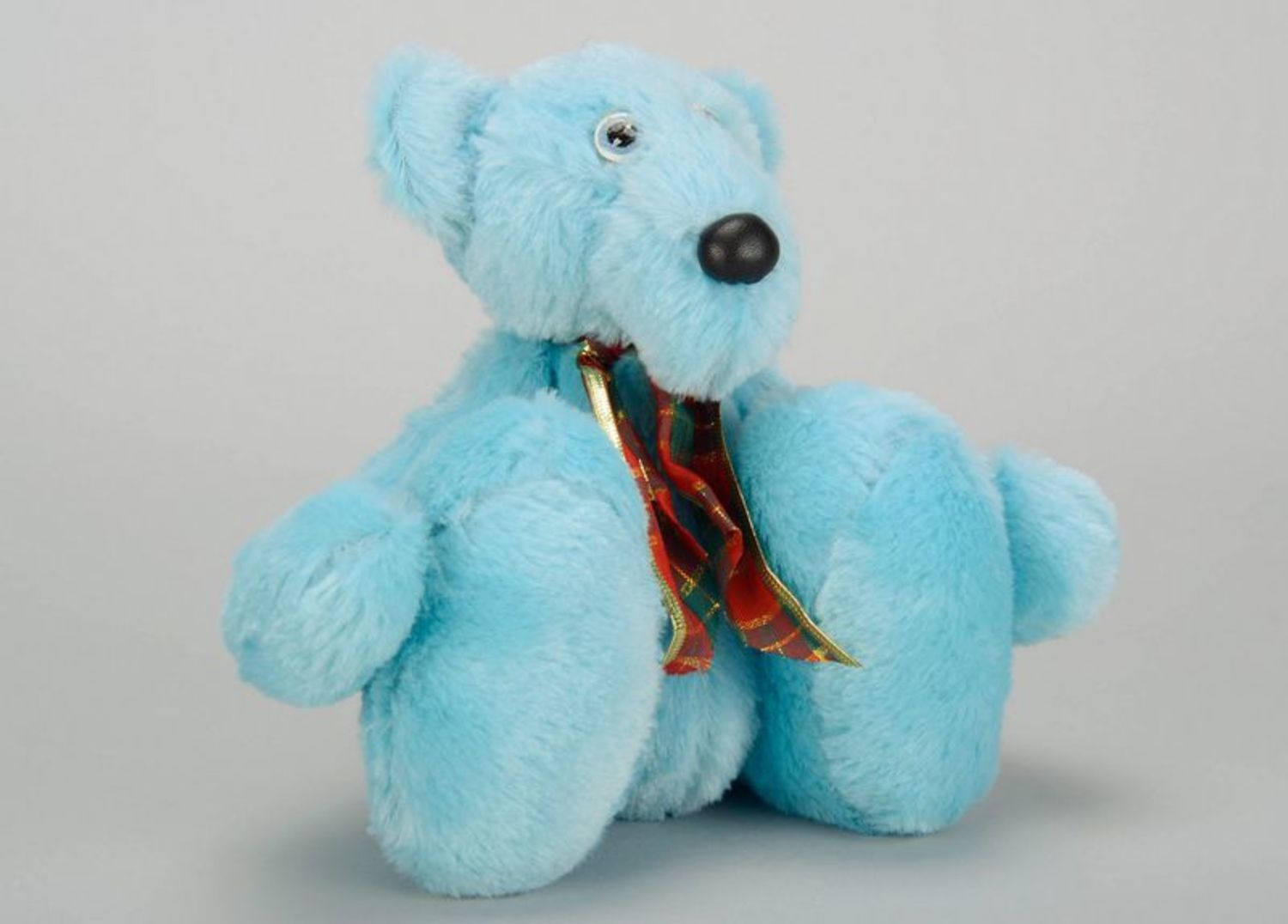 teddy bears Soft toy of blue color