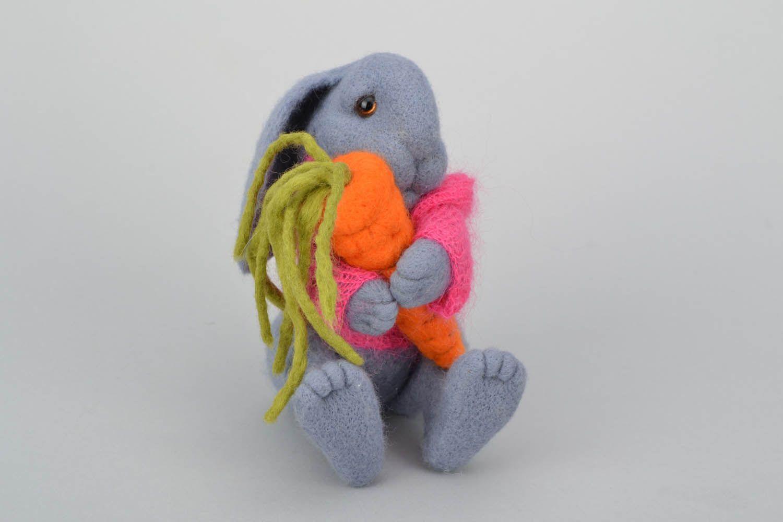 kuscheltier aus stoff hase mit karotte 31602219  kaufen