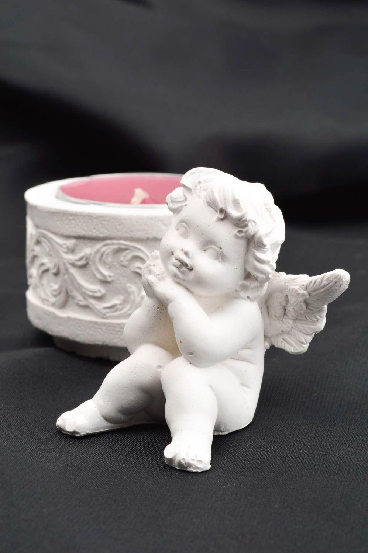 Handmade beautiful angel figurine stylish nursery decor blank for creativity photo 1