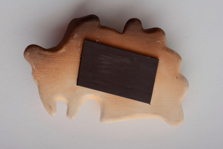 Ceramic fridge magnet Goat photo 4