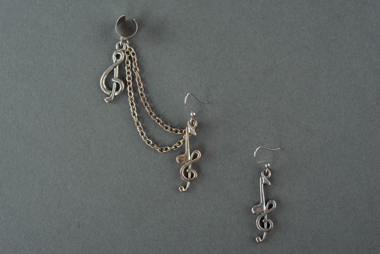 Hypoallergenic earrings Symphony photo 2