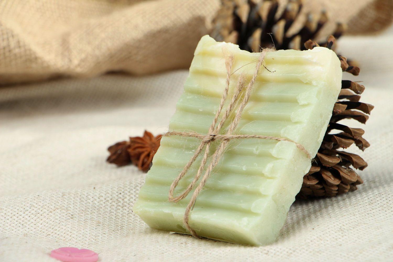Natural soap Menthol photo 1