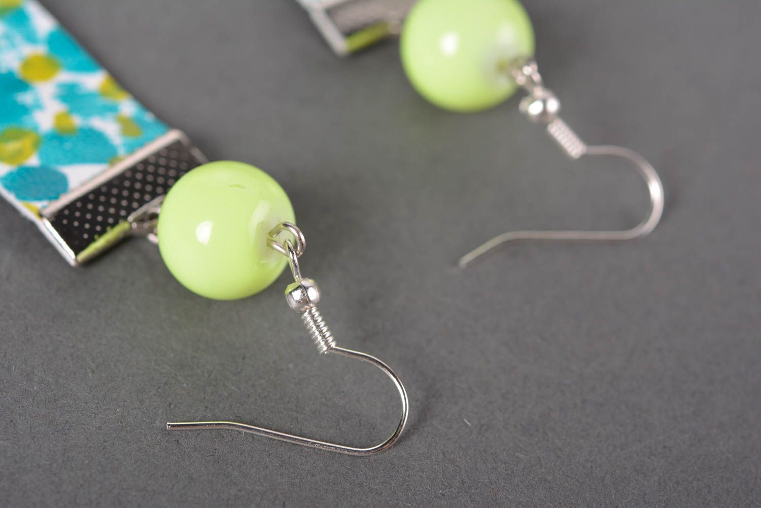 Stylish handmade leather earrings costume jewelry designs gifts for her photo 5