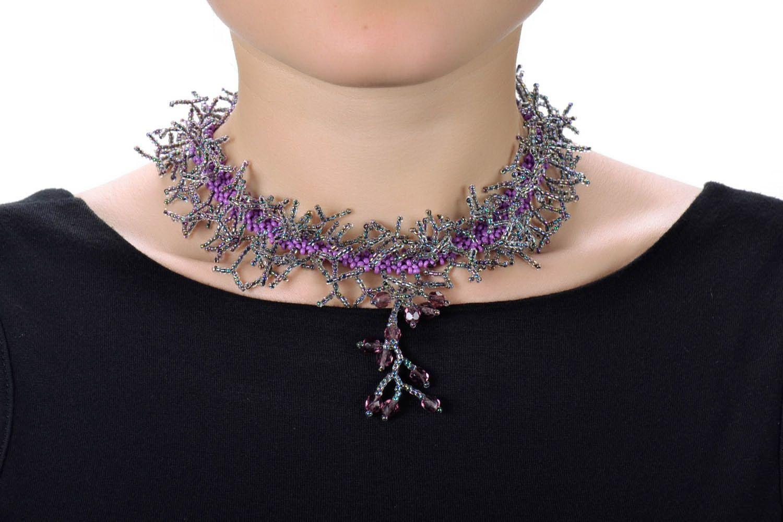 Beaded necklace photo 5