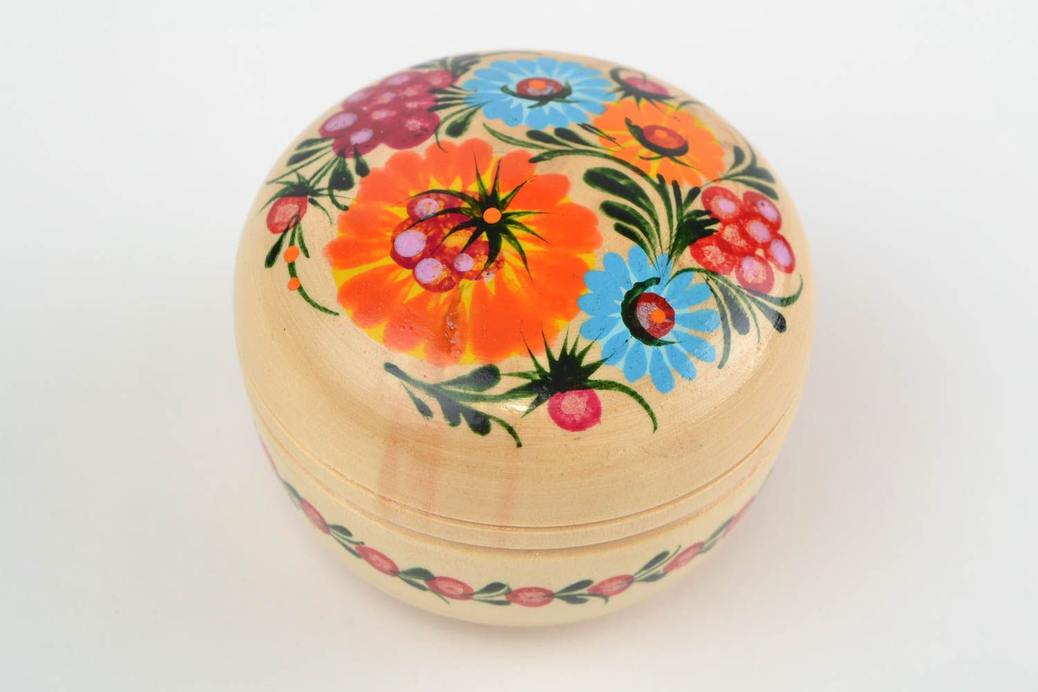 Bo Handmade Wooden Jewelry Box Painted For Home Decor Ideas Madeheart