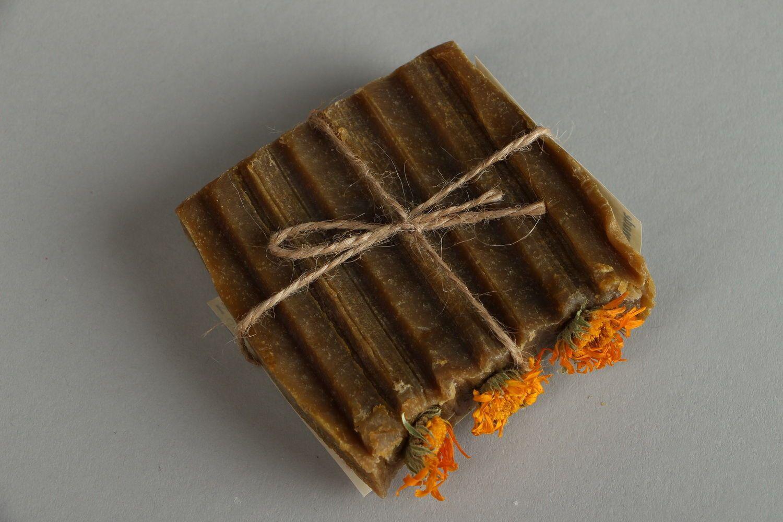Natural sedative soap Calendula photo 2