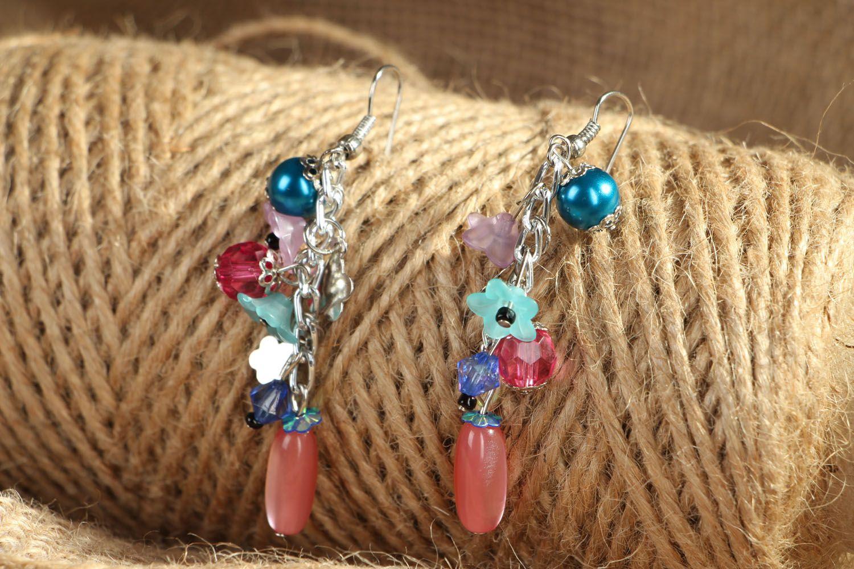 Long earrings Spring Mood photo 4