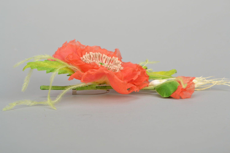 Gentle flower brooch photo 4