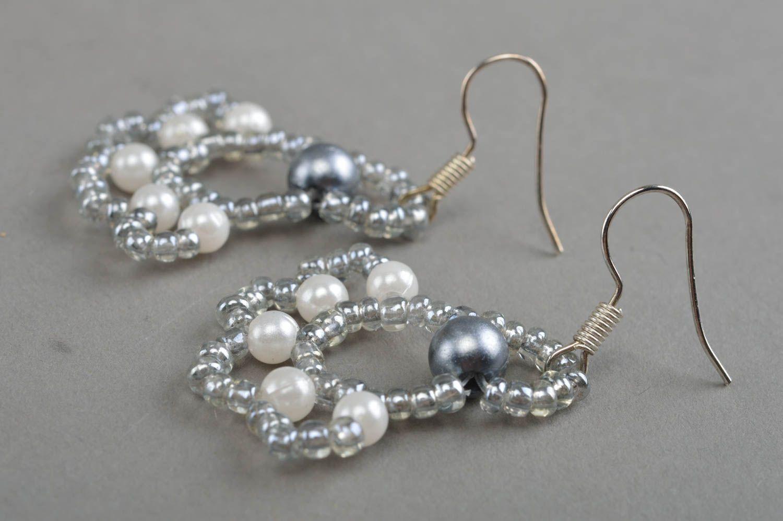 pendientes de abalorios Pendientes de cuentas y abalorios artesanales aretes elegantes bisutería de moda , MADEheart