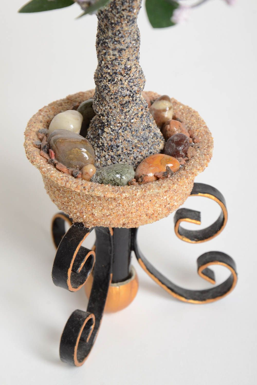 Handmade tree  decor ideas home decor tree with flowers artificial tree photo 4