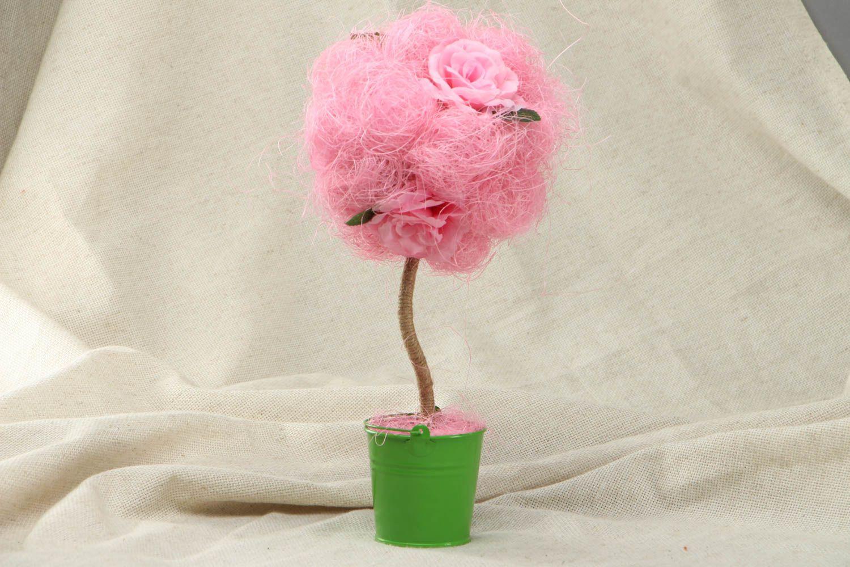 Pink handmade topiry photo 1
