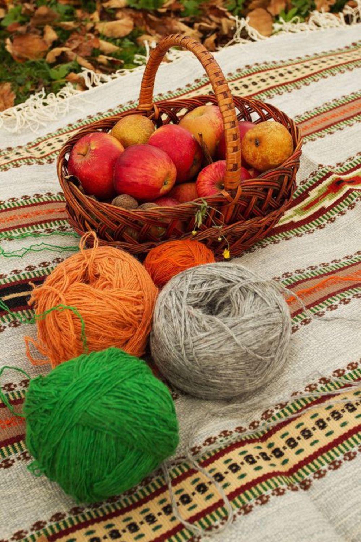 Homespun wool carpet photo 4
