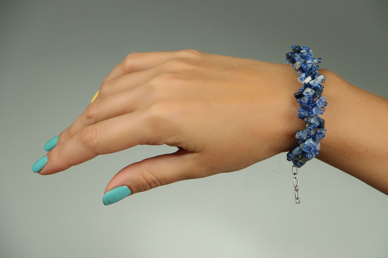 gemstone bracelets Bracelet with lapis lazuli
