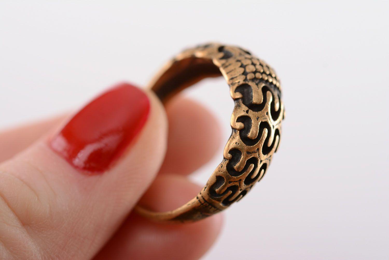 Bronze ring Scandinavia photo 4