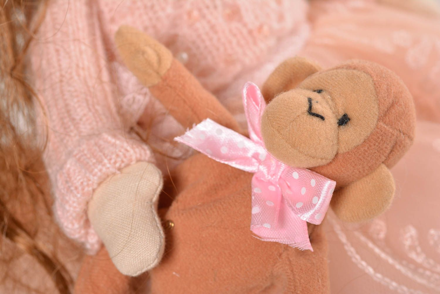 soft toys Beautiful handmade rag doll best toys for kids stuffed soft toy home design - MADEheart.com