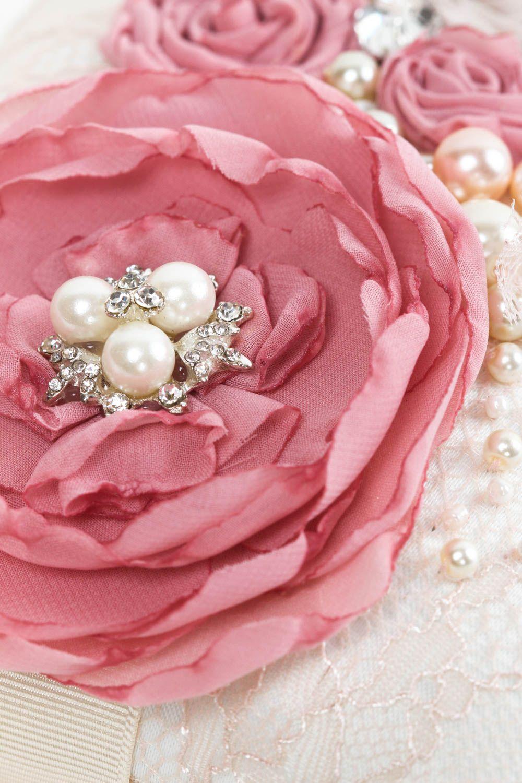 wedding accessories Unusual handmade ring bearer pillow ring holder wedding ring pillow design - MADEheart.com