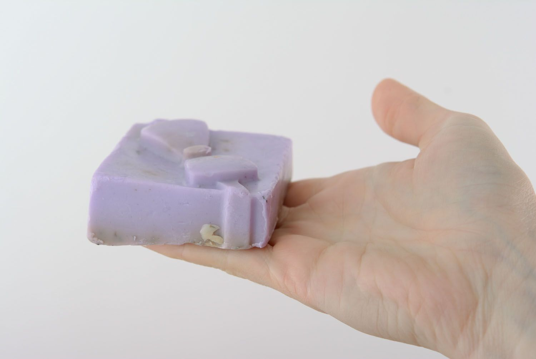 Lavender soap photo 5