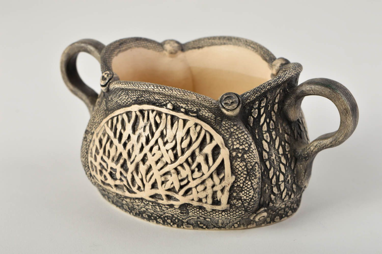 vases Handmade cute vase for flowers unusual ceramic vase beautiful decor element  - MADEheart.com